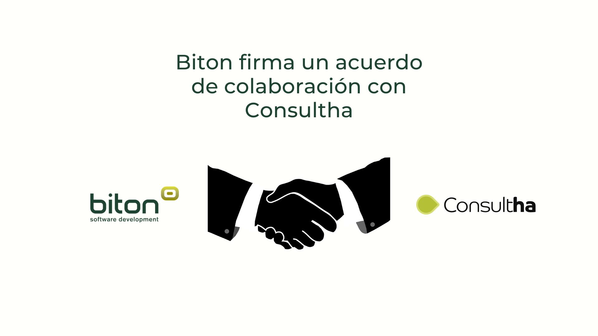 Biton firma un acuerdo de colaboración con Consultha